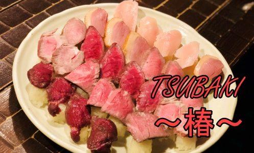 札幌すすきの【肉寿司食べ放題】個室も完備のお店「椿」のご紹介