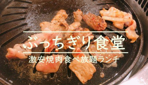 ぶっちぎり食堂札幌すすきの店【激安ランチ焼肉食べ放題】が最高過ぎる!
