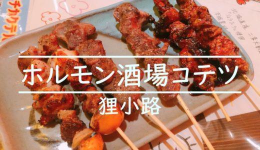 札幌狸小路居酒屋コテツ|純レバやモツ煮がおいしいホルモン酒場を食レポ