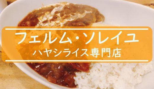 フェルム・ソレイユ|札幌大通り2週間熟成したハヤシライス専門店の味は?