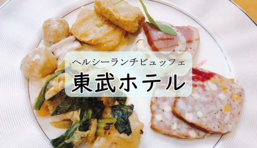 札幌東武ホテル|野菜が豊富なヘルシーランチビュッフェ!
