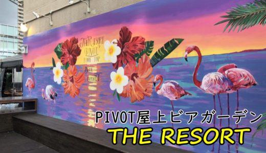 PIVOT(ピヴォ)ビアガーデン|非日常のリゾート空間で楽しいBBQ!-中央区大通-