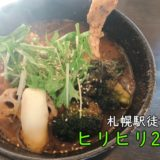 札幌駅 スープカレー ヒリヒリ