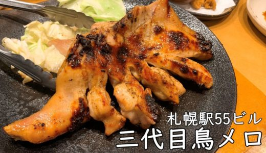 札幌駅55ビル三代目鳥メロ|深夜3時まで営業、鳥料理がおすすめ居酒屋!