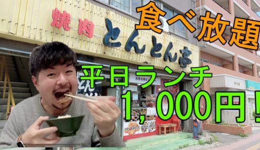 焼肉とんとん亭|西区琴似で平日ランチ食べ放題1,000円のコスパ抜群店!